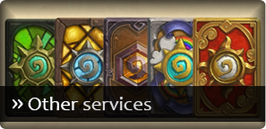 Hearthstone - Other services