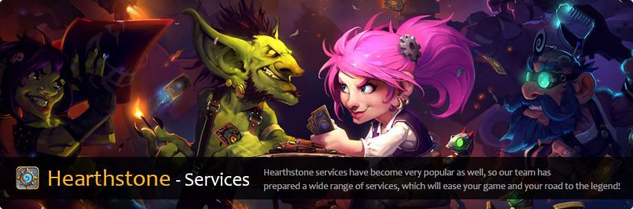 Hearthstone services