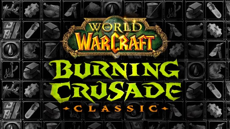 Choose Profession in WoW TBC
